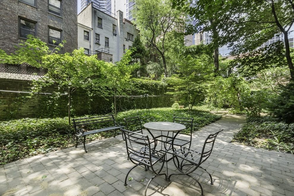 New York City Real Estate | View 230 East 50th Street, #5D | Sit in solitude or sip a beverage with a friend.