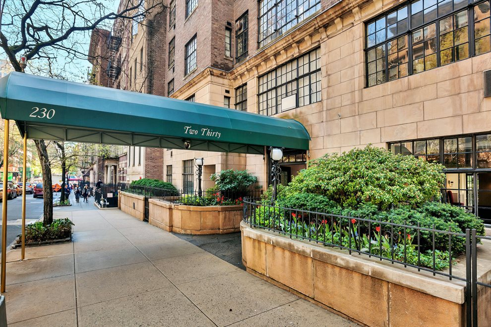 New York City Real Estate | View 230 East 50th Street, #5D | A tree-lined block in the heart of Turtle Bay.