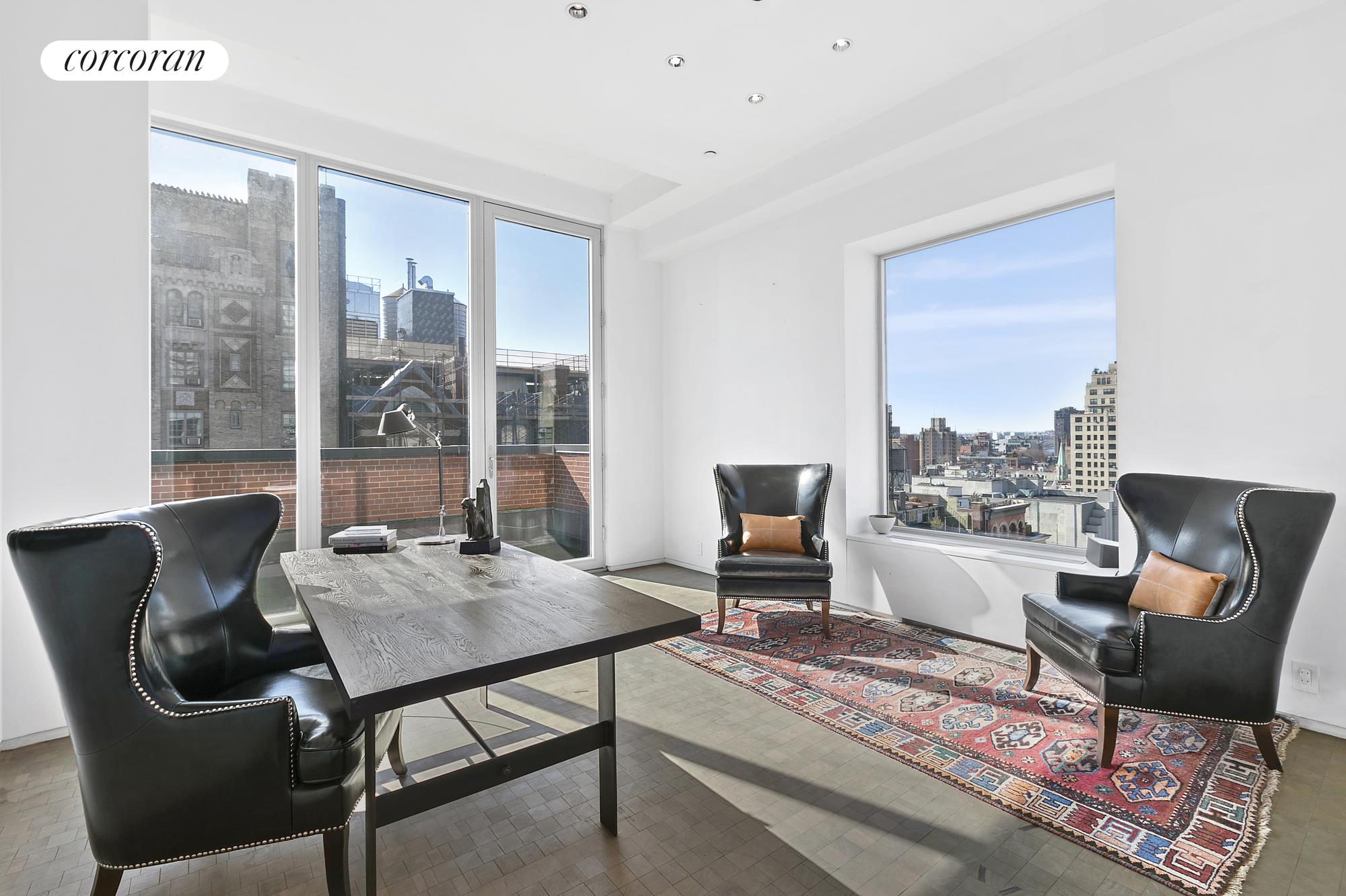 213 West 23rd Street, PH, living room