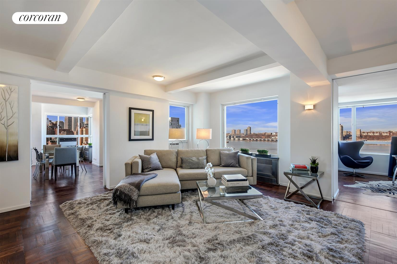411 West End Avenue, 16D, Living Room