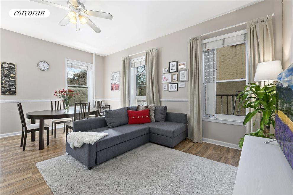 New York City Real Estate | View 92 Prospect Park West, #3B | 2 Beds, 1 Bath