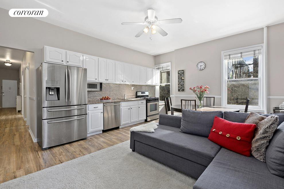 New York City Real Estate | View 92 Prospect Park West, #3B | Open Kitchen