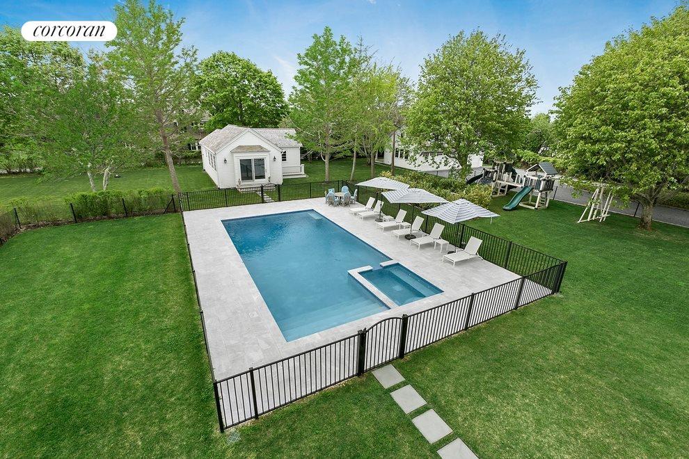 20x40 Heated Gunite Pool And Guest House