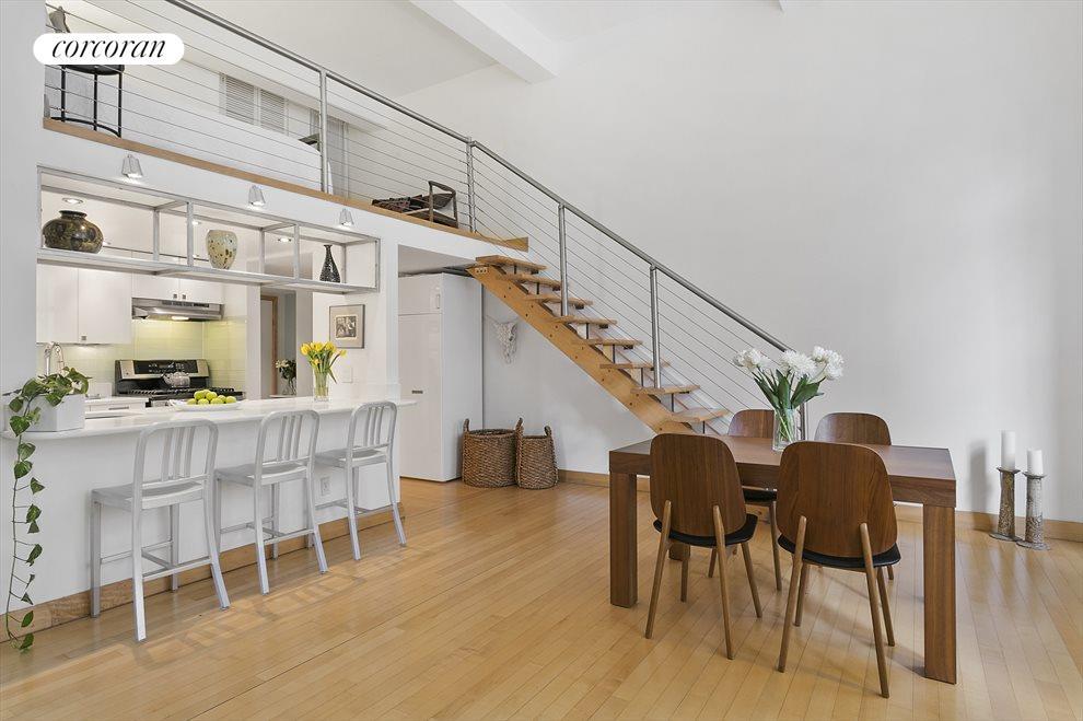 Open Kitchen and Sleep Loft