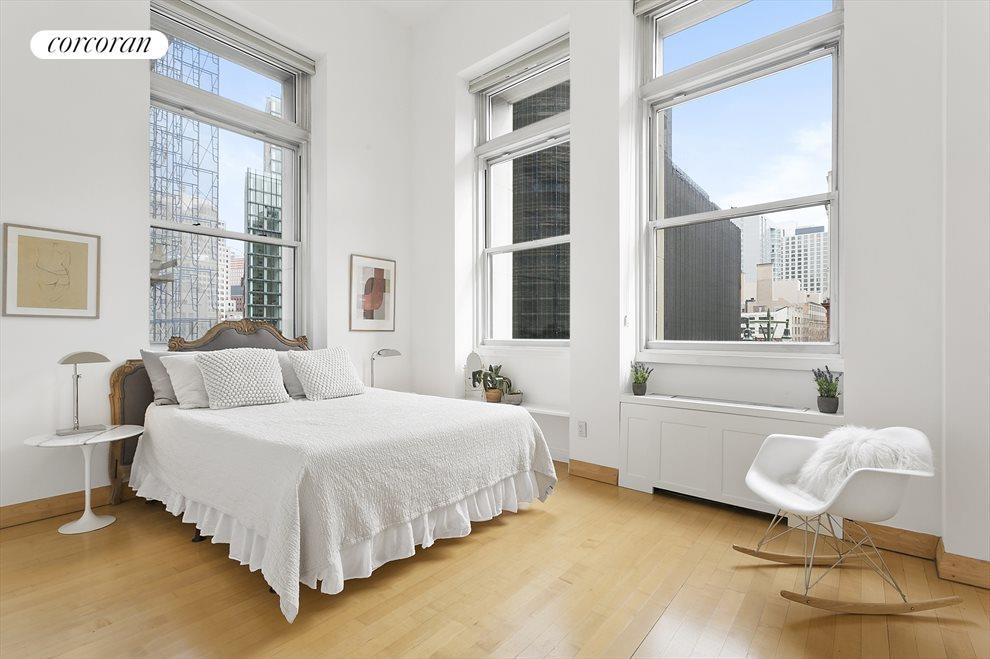 Corner Bedroom with huge window
