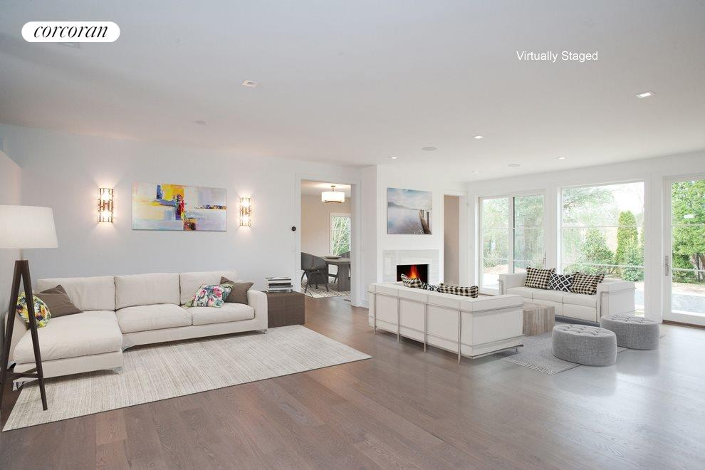 Virtual Staging of main living area