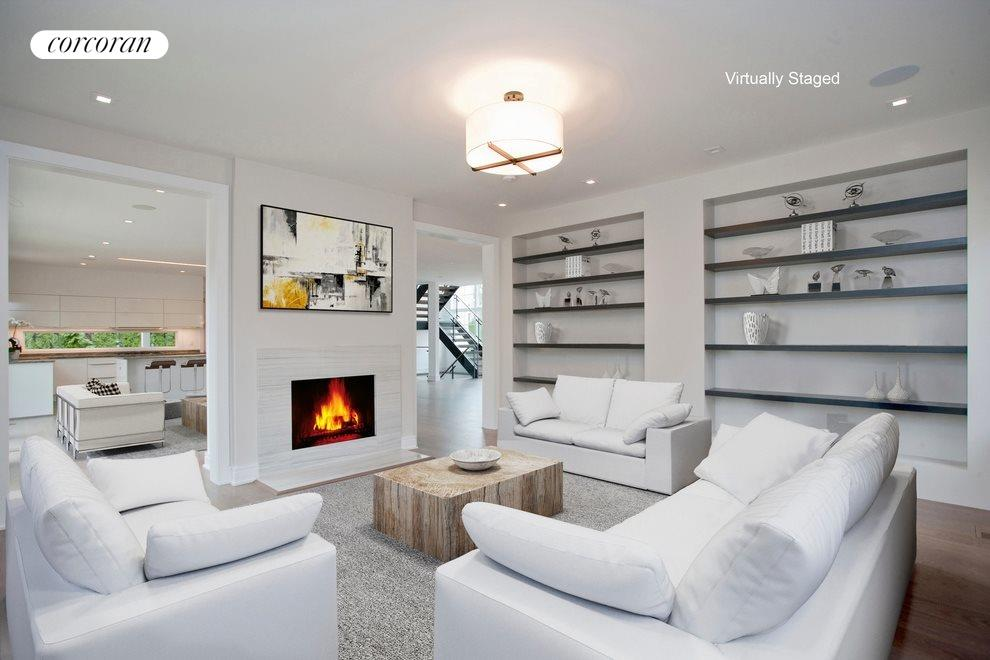 Virtual staging of Library
