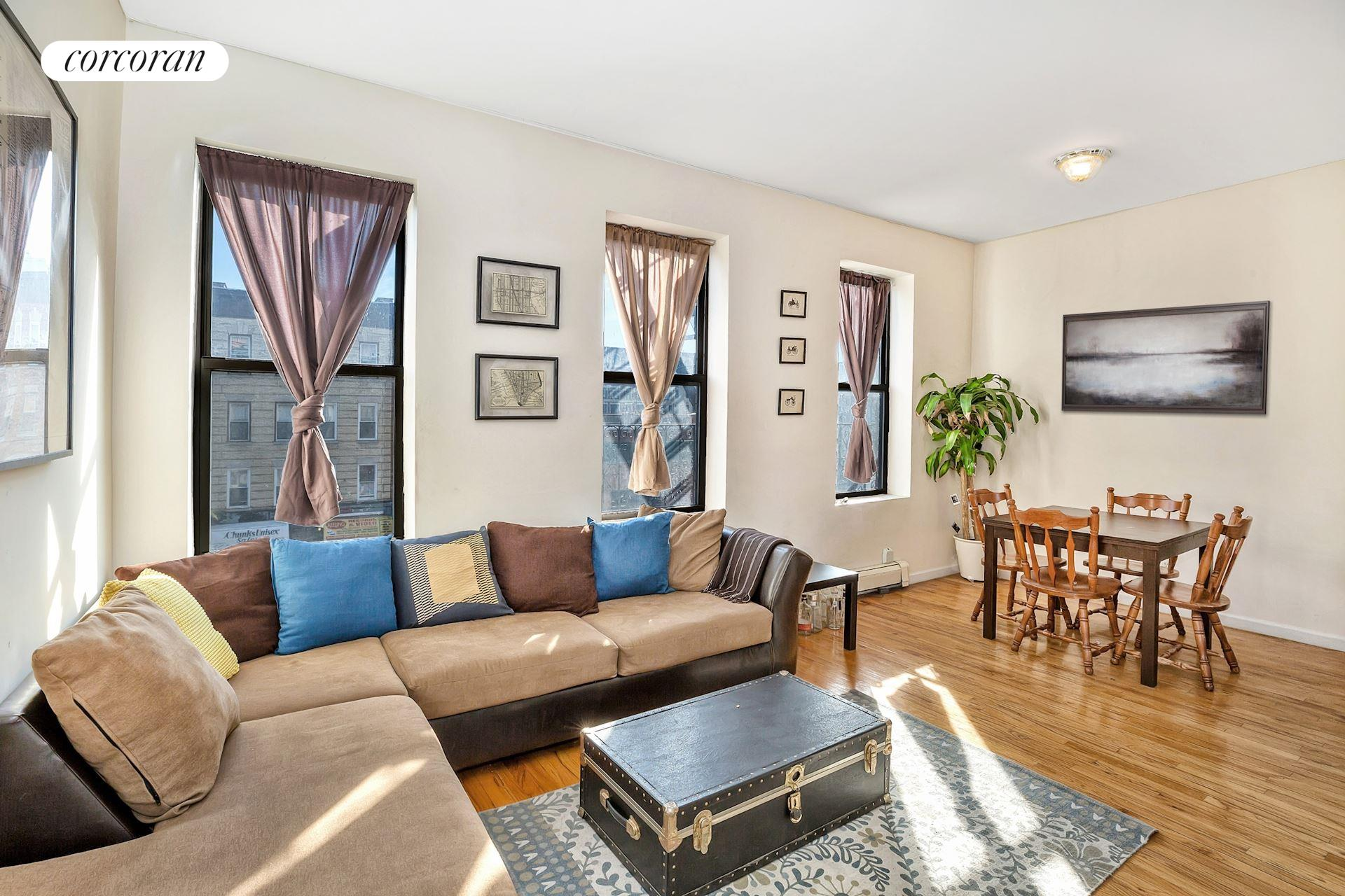 1359 Saint Johns Place, 3, Living Room