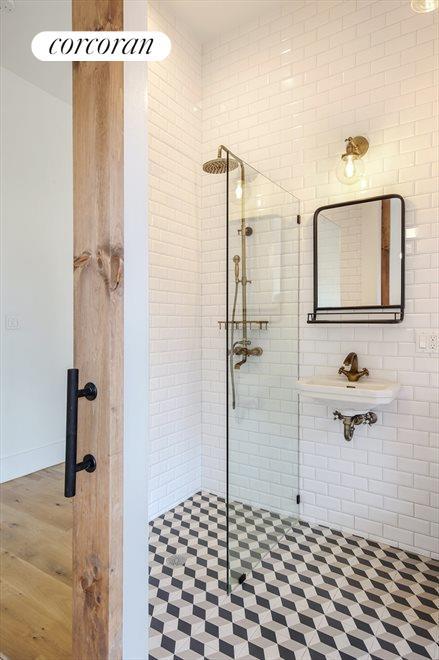 Master Bathroom w Moroccan Tiles