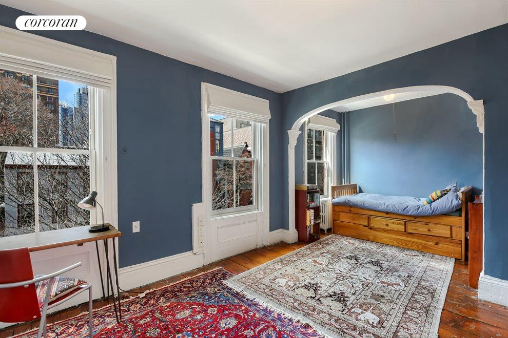 Original Archways and Large Bedrooms