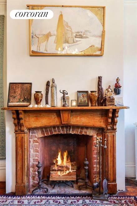 Four Wood burning Fireplaces