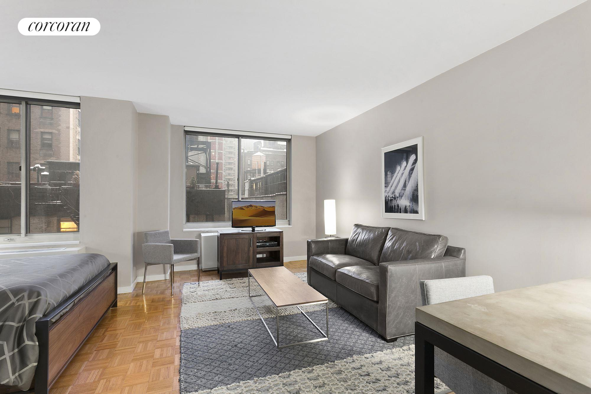 Corcoran 145 east 48th street apt 10a midtown east for Alcove studio