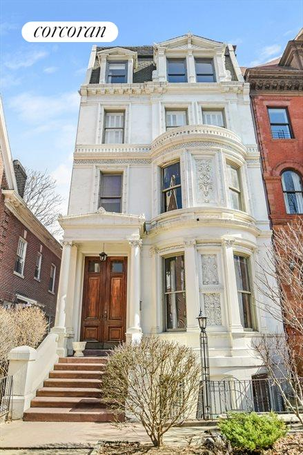 New York City Real Estate | View 313 Clinton Avenue, #1 | Celebrated Neo-Grec Mansion