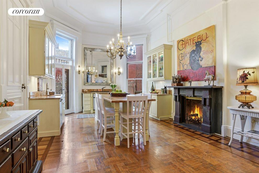 New York City Real Estate | View 313 Clinton Avenue, #1 | Euro-inspired Kitchen