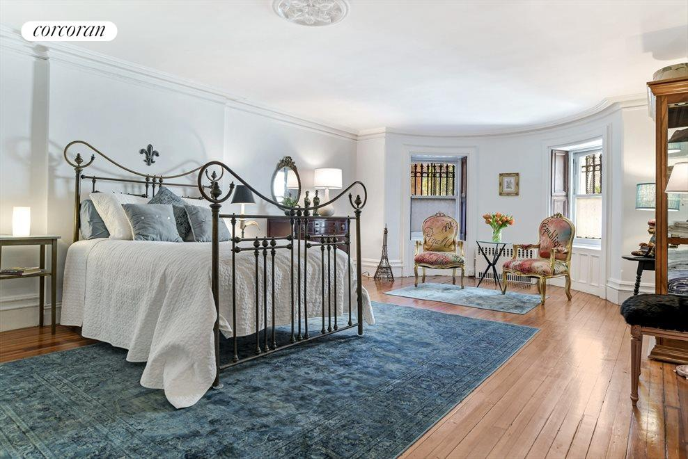 New York City Real Estate | View 313 Clinton Avenue, #1 | Master Size Bedroom