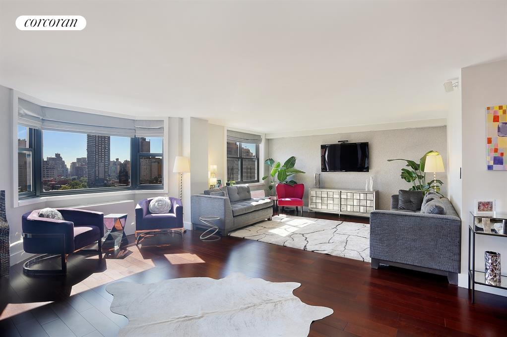 200 East 90th Street, 10EF, Sun Flooded Living with Open Views