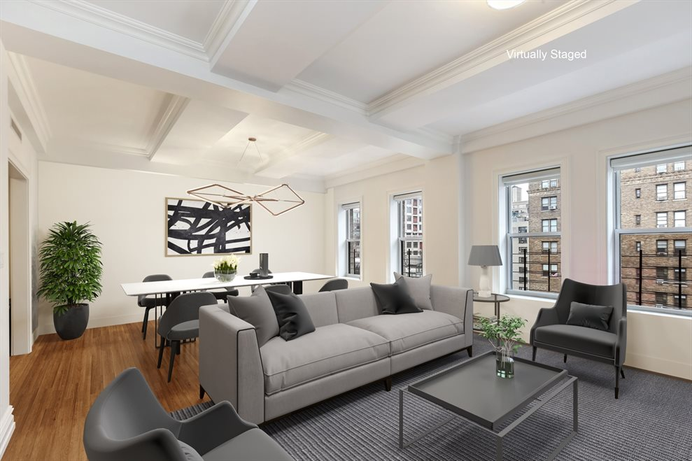 New York City Real Estate | View 215 West 88th Street, #10G | 3 Beds, 2 Baths