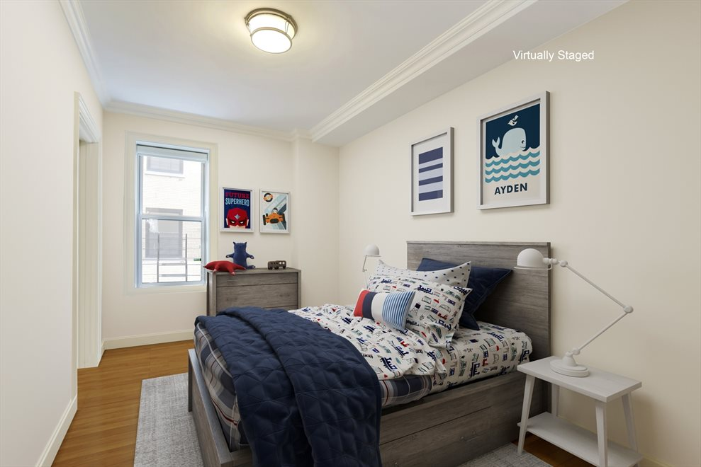 New York City Real Estate | View 215 West 88th Street, #10G | Third bedroom faces east with large closet
