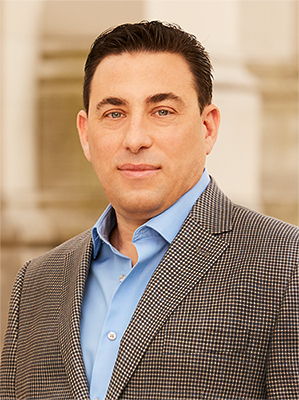 Jason Kay, a top realtor in New York City for Corcoran, a real estate firm in East Side.