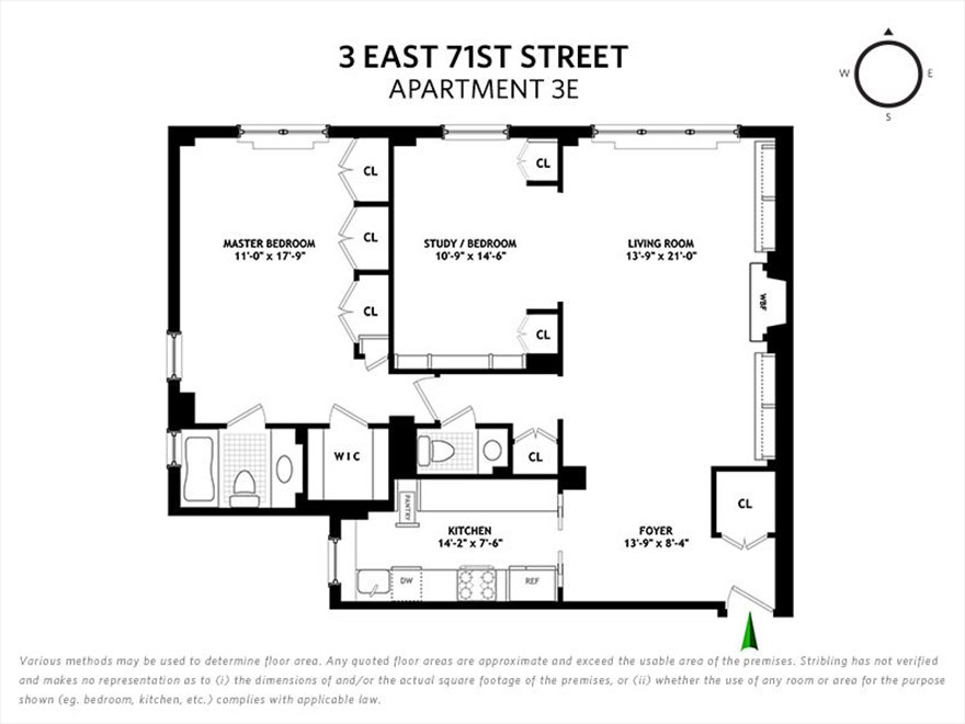 New York City Real Estate | View East 71st Street | Floorplan