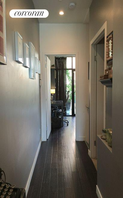 Hallway to Bedroom and Lower Level