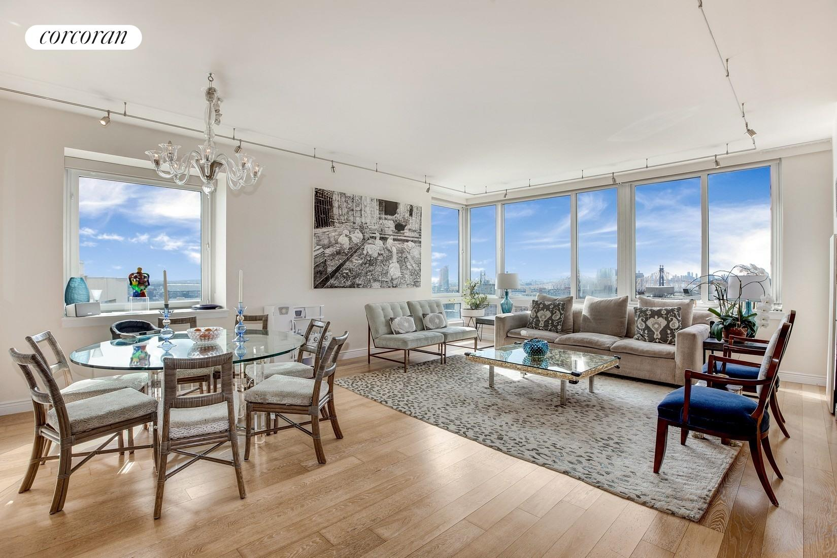 524 East 72nd Street, 28AG, Living Room