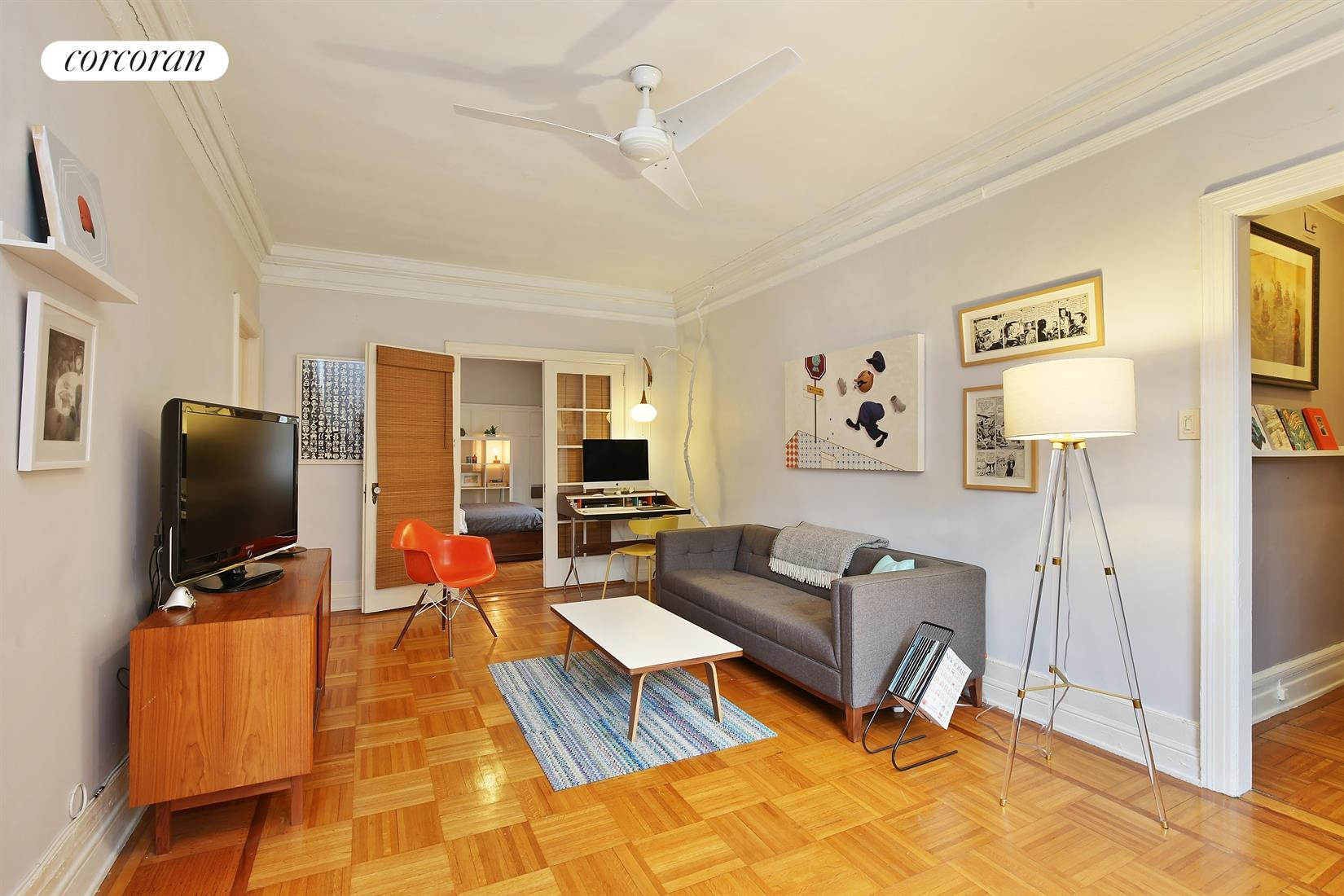 109 SEAMAN AVE, 5G, Living Room
