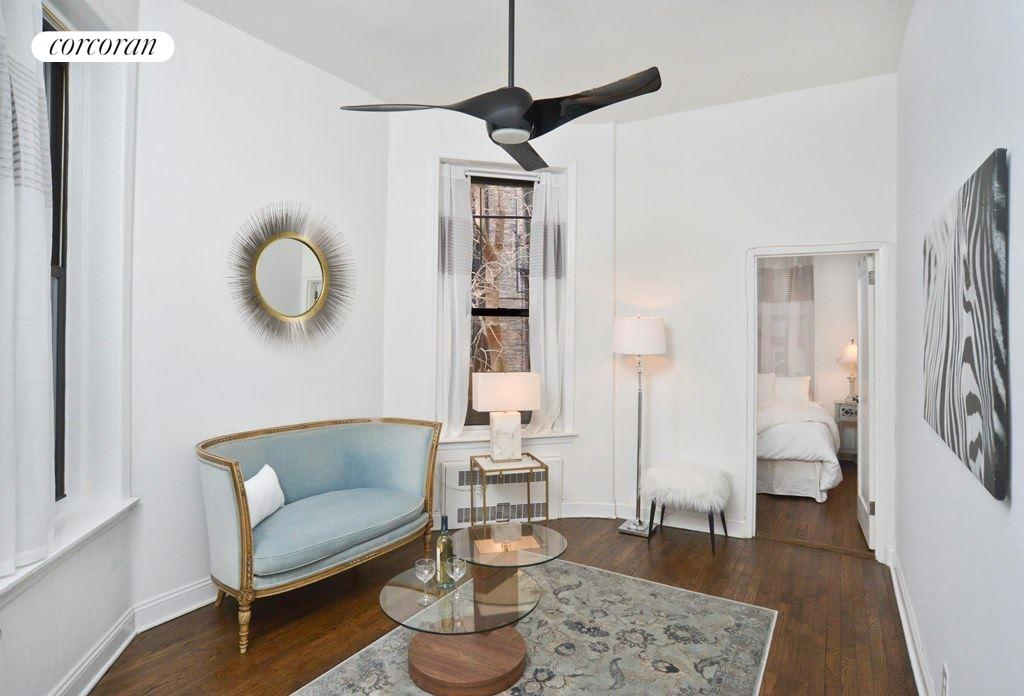 120 East 83rd Street, Parlor Rea, Living Room