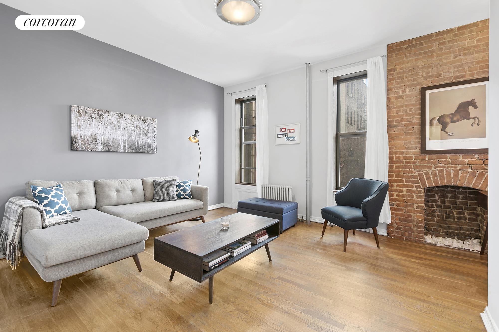 404 West 48th Street, 3B, living room