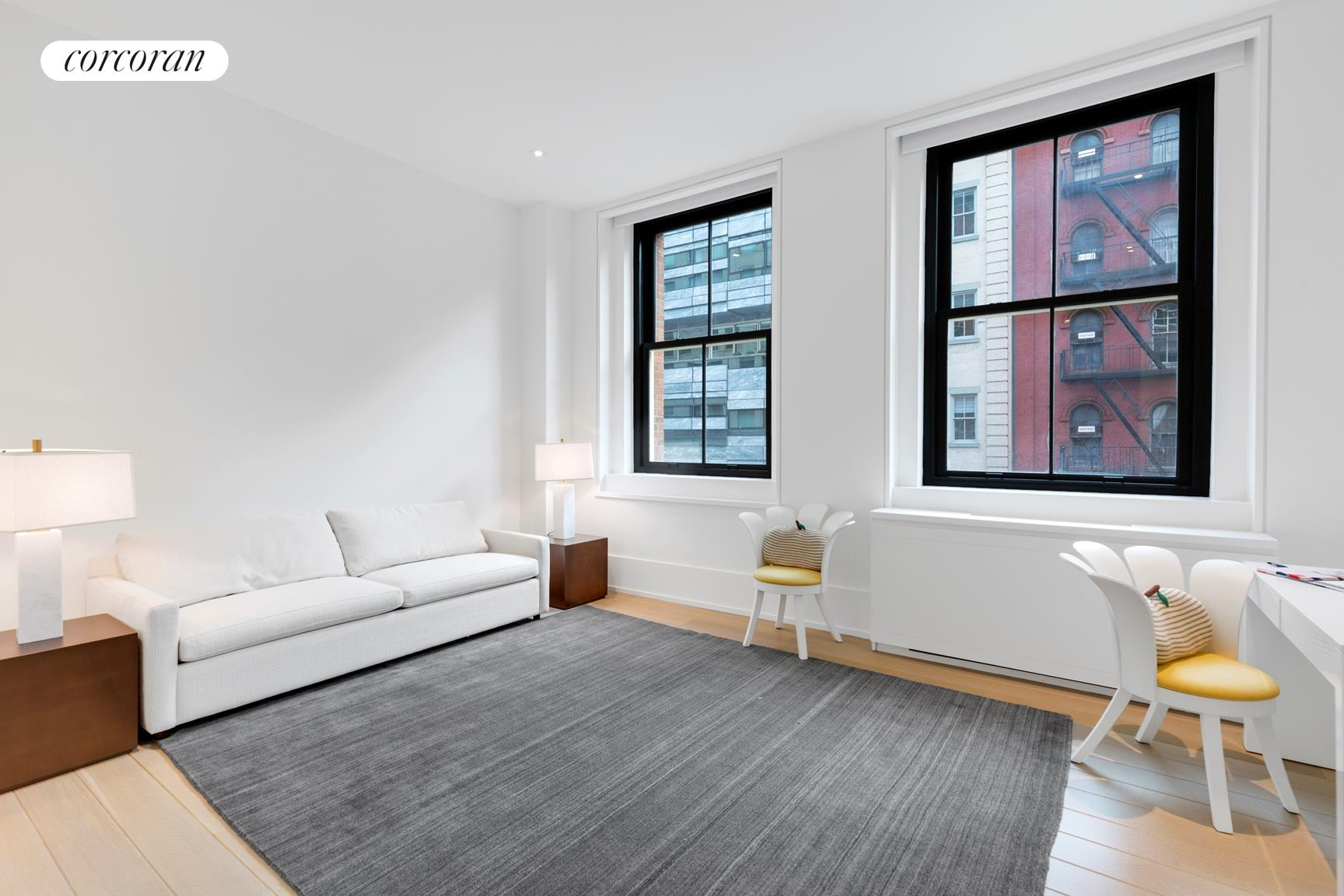 443 Greenwich Street, 3C, Living Room