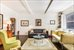 210 West 78th Street, 9D, Bright Living Room