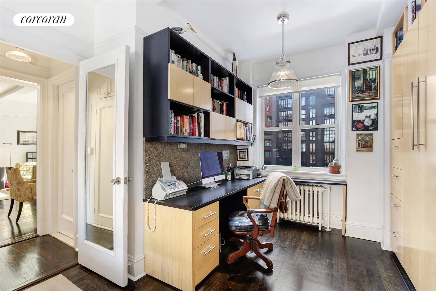 210 West 78th Street, 9D, South Facing Living/Dining Room