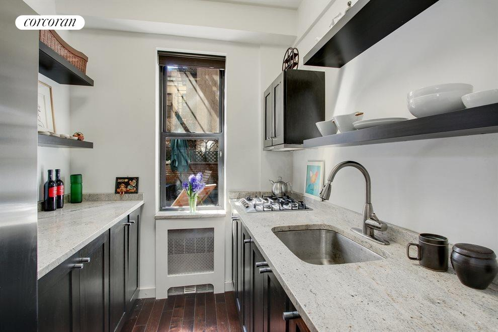 New York City Real Estate | View 100 West 12th Street, #1A | Renovated Kitchen