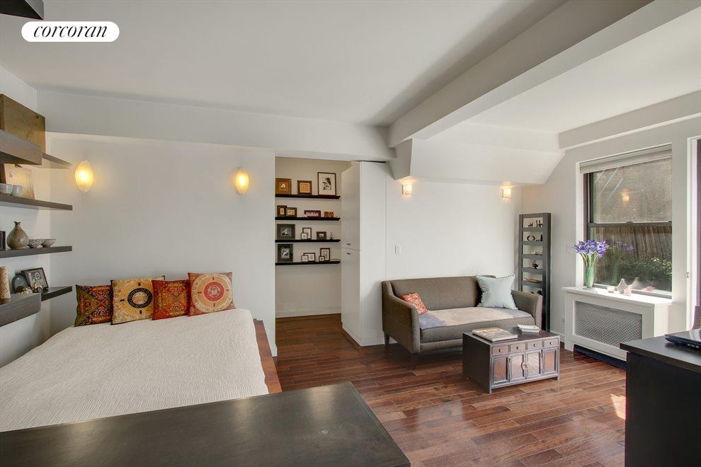 New York City Real Estate | View 100 West 12th Street, #1A | Beautifully Renovated Studio