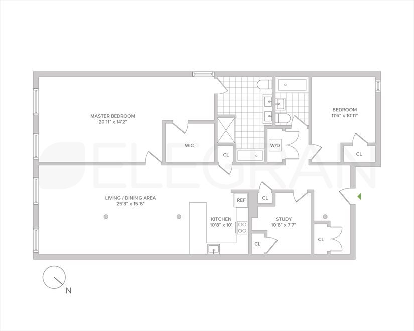 New York City Real Estate | View Mulberry Street | Floorplan 2