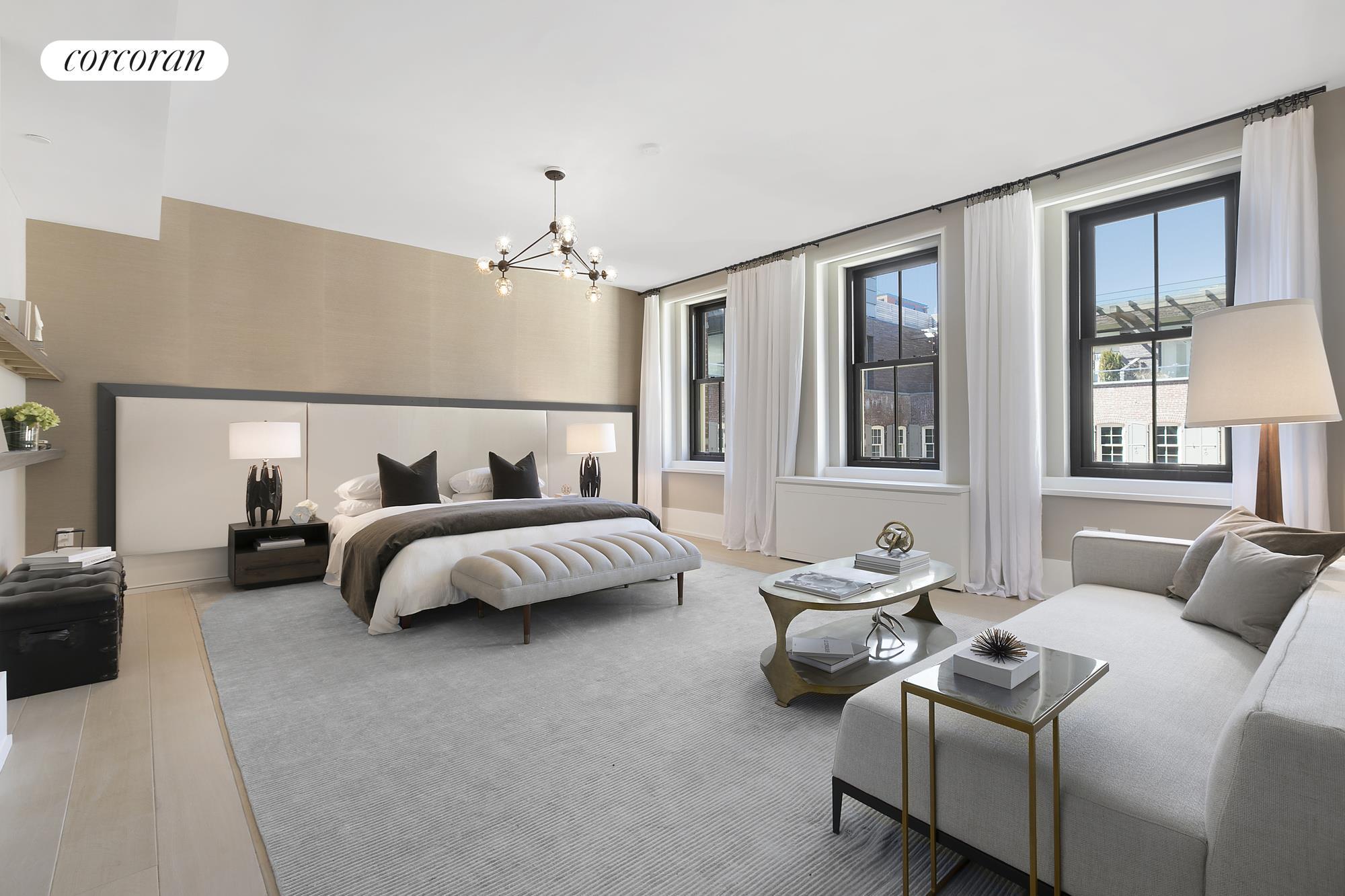443 Greenwich Street, PHF, living room