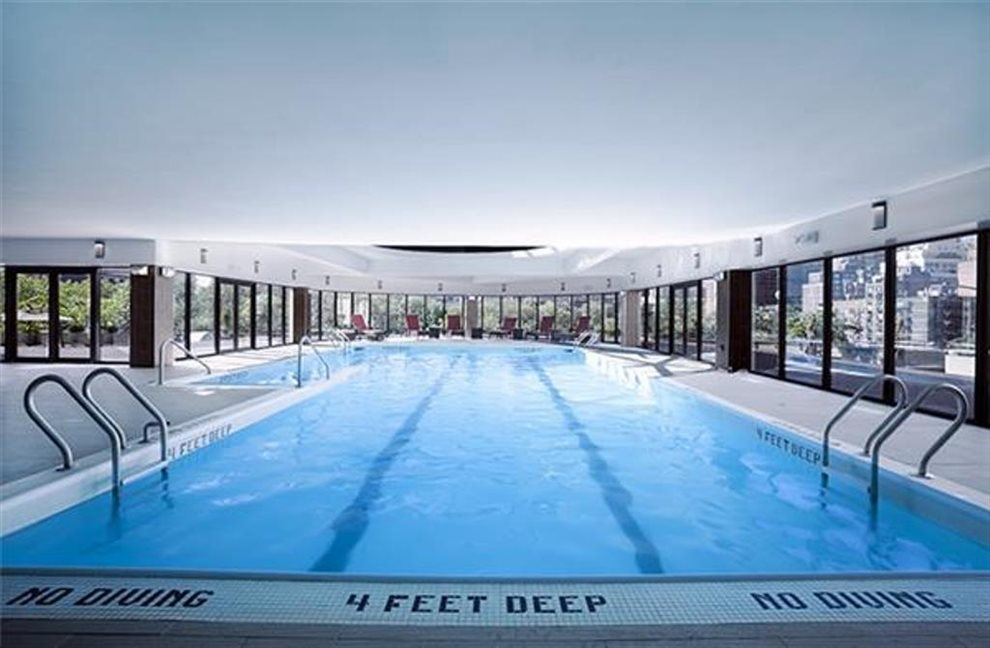 Year around heated pool