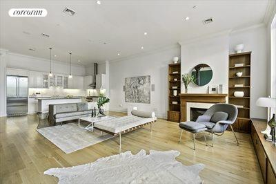 New York City Real Estate | View 481 Washington Street, 2-S | Living Room 1