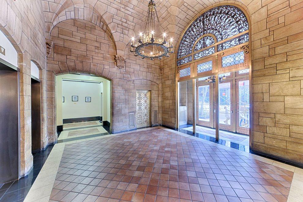Enjoy the Pre-War Details and Elegant Lobby