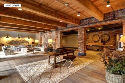 15 Church Street, D-216, Large Expansive Living Room with Historic Beams Above