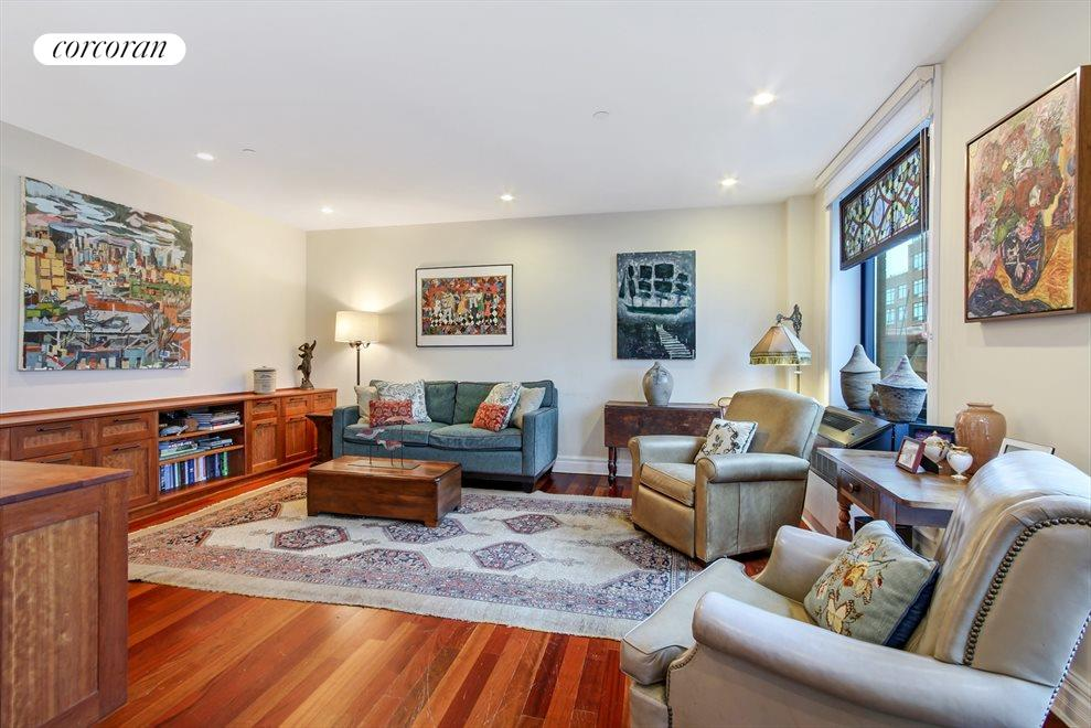New York City Real Estate | View 233 Pacific Street, #4D | Over-sized living room
