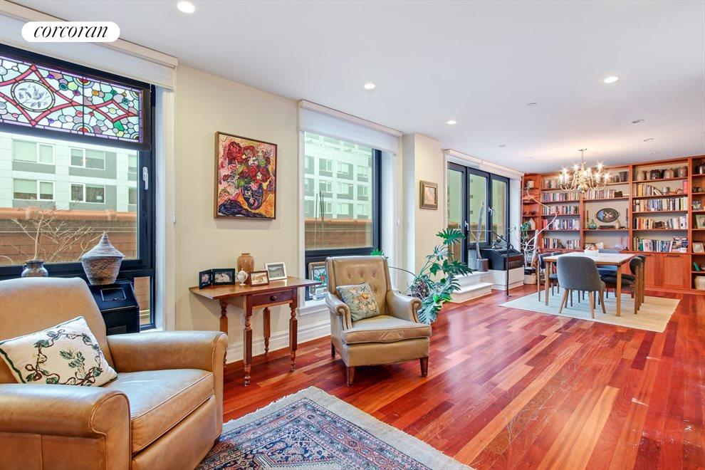 New York City Real Estate | View 233 Pacific Street, #4D | Living room to dining room view