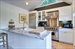 Amagansett, Renovated Kitchen and bar area for summer entertaining