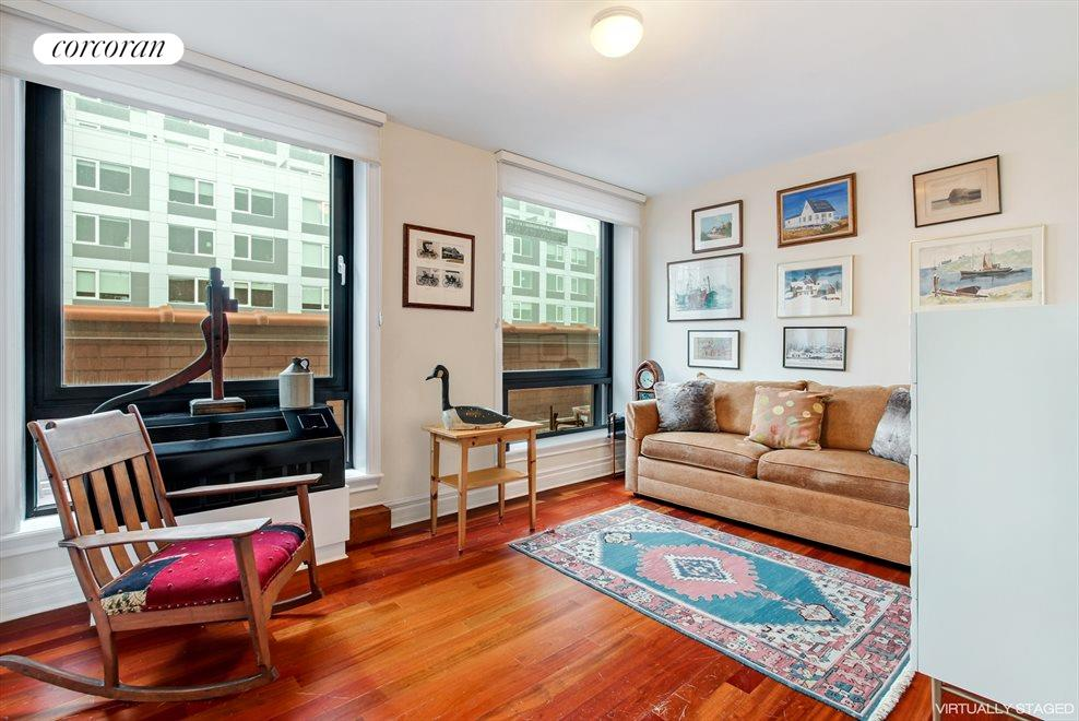 New York City Real Estate | View 233 Pacific Street, #4D | 2nd Bedroom - currently used as a den