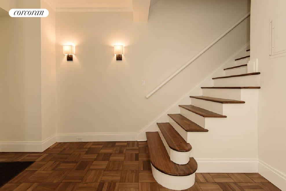 Foyer and Elegant Staircase