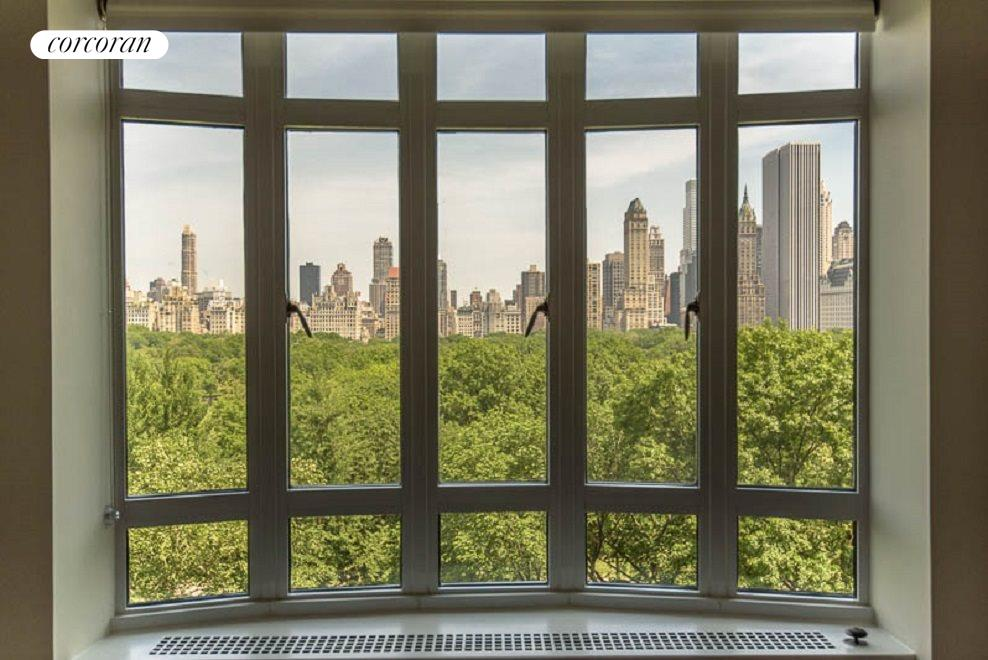 Bay Windows framing Central Park Views