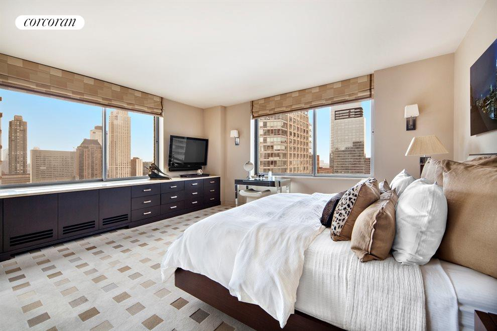 New York City Real Estate | View 111 West 67th Street, #28A | Master Bedroom