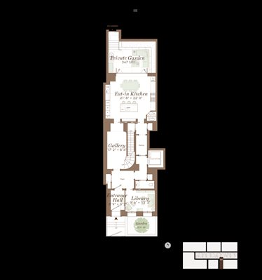 New York City Real Estate | View 141 West 11th Street | Floorplan 1