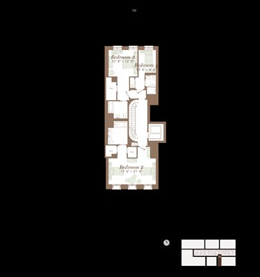 New York City Real Estate | View 141 West 11th Street | Floorplan 4