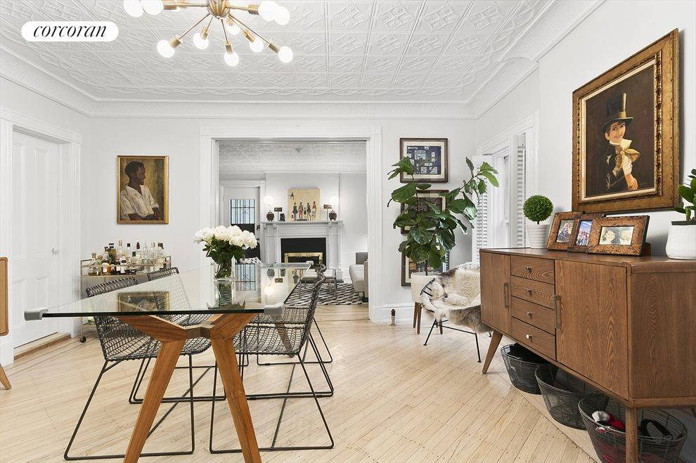 Dining room chock-full of charming details